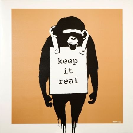 Гашение Banksy - Keep It Real/laugh Now