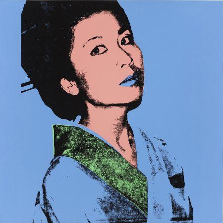 Сериграфия Warhol - KIMIKO FS II.237