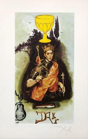 Литография Dali - KING OF CUPS