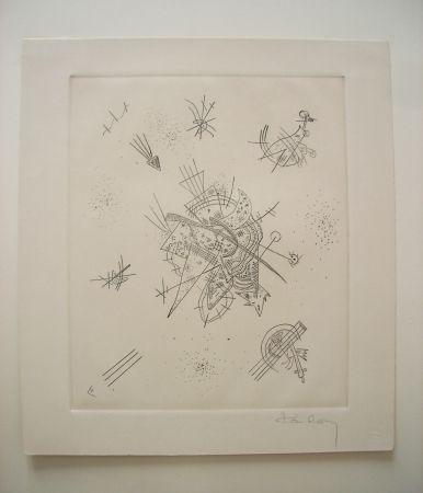 Гравюра Сухой Иглой Kandinsky - Kleine Welten X