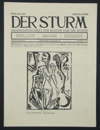 Гравюра На Дереве Stoermer - Knieender Mann (Kneeling Man)