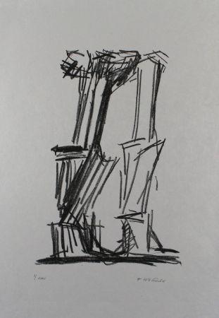 Литография Wotruba - Komposition