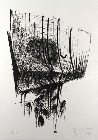Литография Heiliger - Komposition II