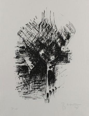 Литография Heiliger - Komposition III