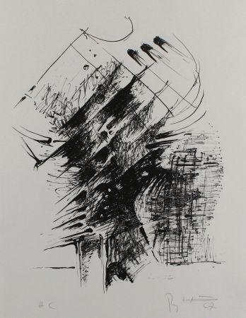 Литография Heiliger - Komposition IV