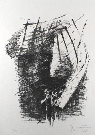 Литография Heiliger - Komposition V