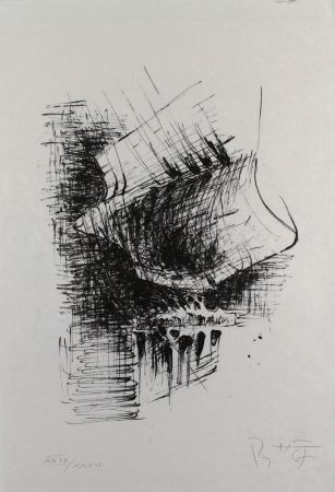 Литография Heiliger - Komposition VI