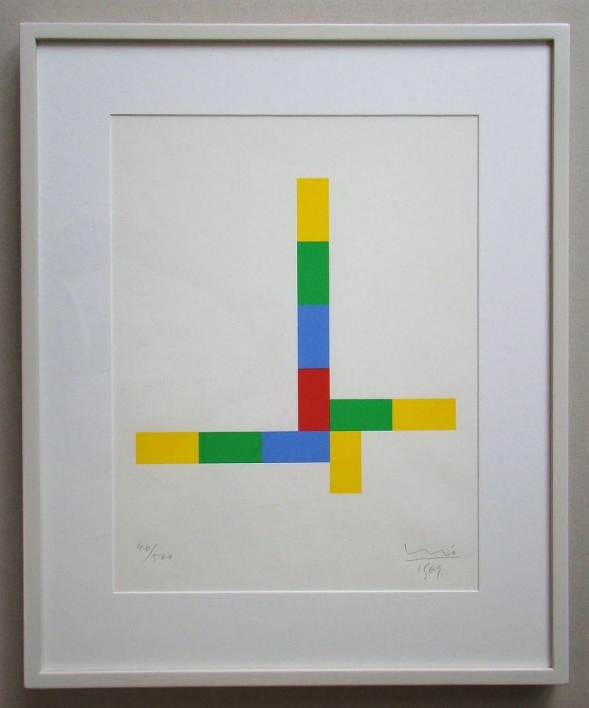 Сериграфия Bill - Konkrete Komposition - 1969