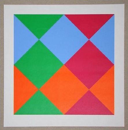 Сериграфия Bill - Konkrete Komposition, 1966