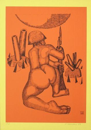 Литография Hanko - Krieger (Warrior)