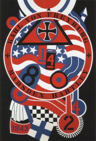 Сериграфия Indiana - KVF II, from The Hartley Elegies