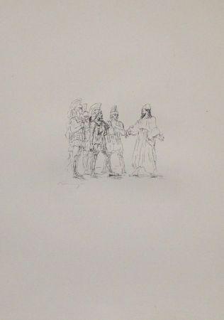 Литография Slevogt - Kyros und die hellenischen Obersten