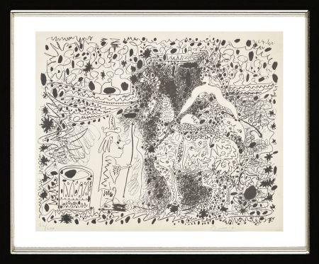 Литография Picasso - L'Éyuyère, 1960