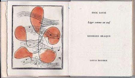 Иллюстрированная Книга Braque - Léger comme un oeuf