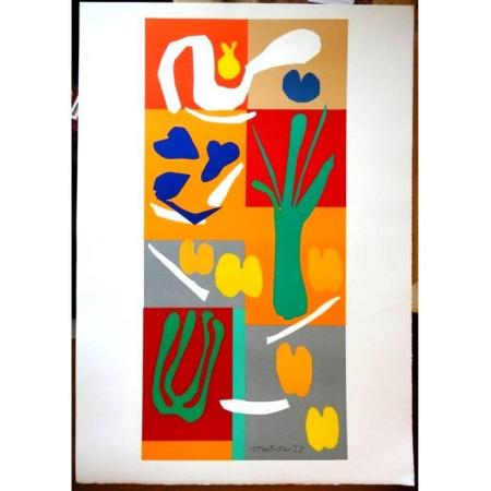 Литография Matisse - Légumes