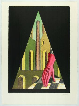 Литография Chirico (De) - L'énigme de la fatalité