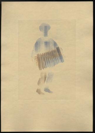 Иллюстрированная Книга Alexeïeff - Léon-Paul Fargue : POÈMES. Eaux-fortes en couleurs par Alexeïeff (1943)