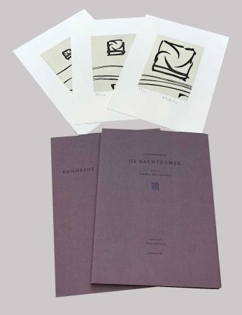 Иллюстрированная Книга Alechinsky - L'été de nuit
