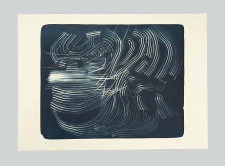 Литография Hartung - L-10-1973