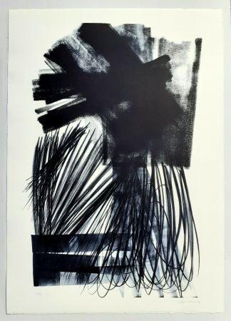 Литография Hartung - L-17-1973