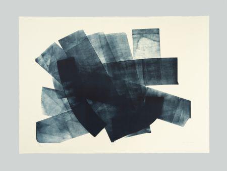 Литография Hartung - L-18-1973