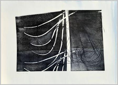 Литография Hartung - L-38-1973