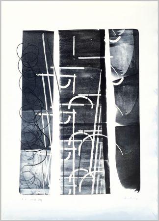 Литография Hartung - L-49-1973