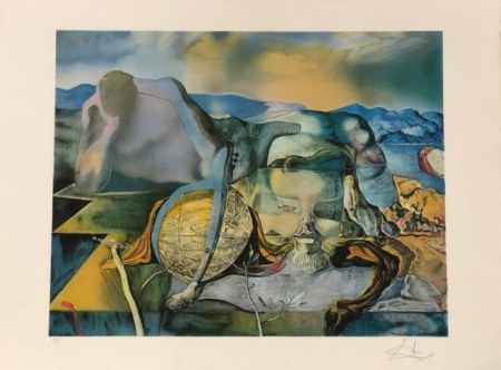 Литография Dali - L' énigme sans fin