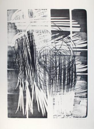 Литография Hartung - L - 16B - 1974
