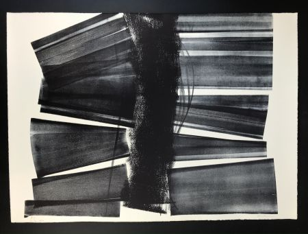Литография Hartung - L - 1974 - 21