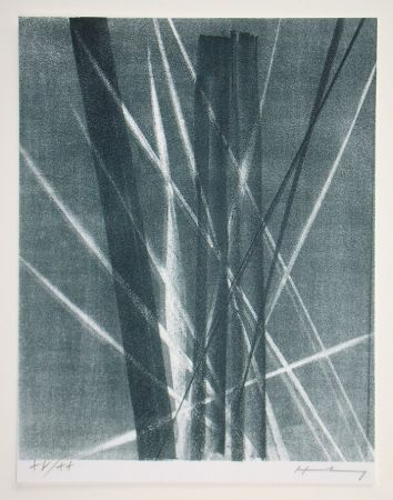 Литография Hartung -  L 1966 - 40