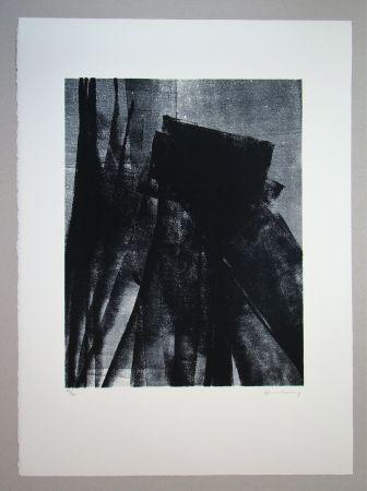 Литография Hartung - L 1977 - 4
