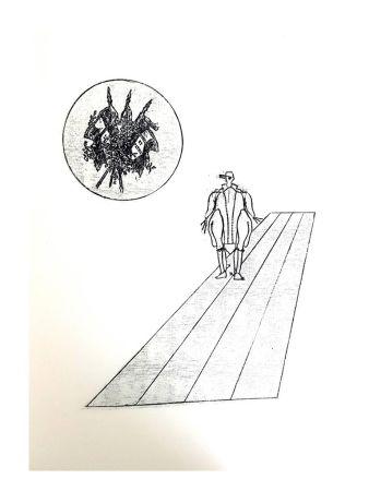 Литография Ernst - La Ballade du Soldat