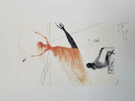 Литография Dali - La Ballerina