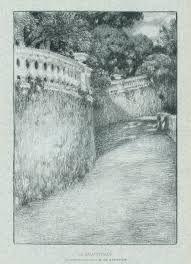 Литография Le Sidaner - La balustrade