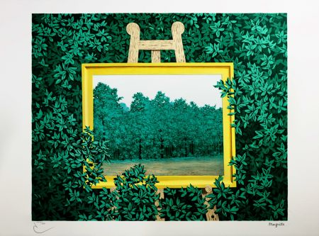 Литография Magritte - La Cascade