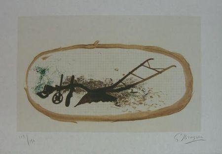 Литография Braque - La Charrue (el arado)