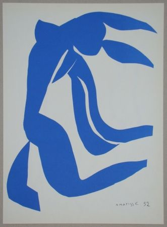 Литография Matisse - La Chevelure