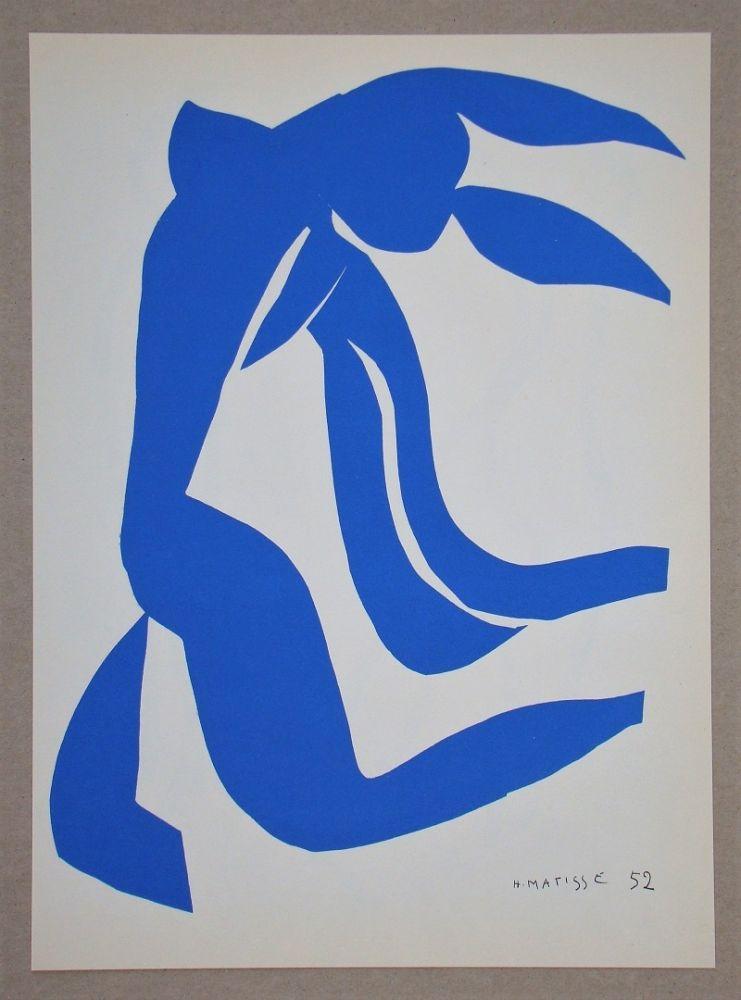 Литография Matisse (After) - La Chevelure - 1952