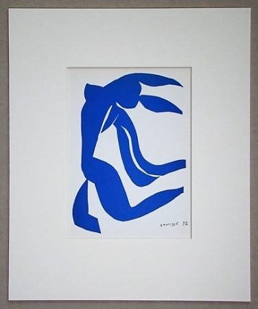 Литография Matisse (After) - La chevelure - 1952
