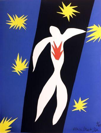 Литография Matisse - LA CHUTE D'ICARE (Pour la revue Verve n°13, 1945)