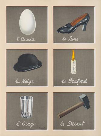 Литография Magritte - La Clé Des Songes