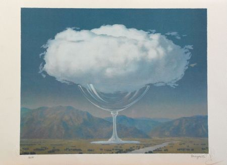 Литография Magritte - La Corde Sensible