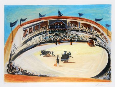 Акватинта Picasso (After) - La corrida