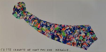 Литография Baj - La Cravate