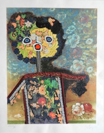 Многоэкземплярное Произведение Baj - La dama di fiori