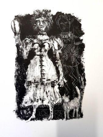 Литография Clavé - La Dame de Pique de Pouchkine