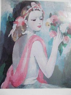 Афиша Laurencin - La dame et le bouquet