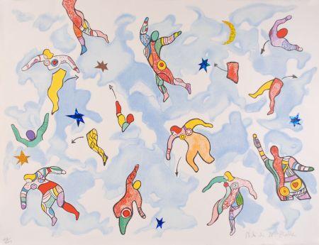 Литография De Saint Phalle - La danse éclatée