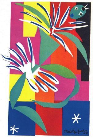 Литография Matisse - La Danseuse Creole